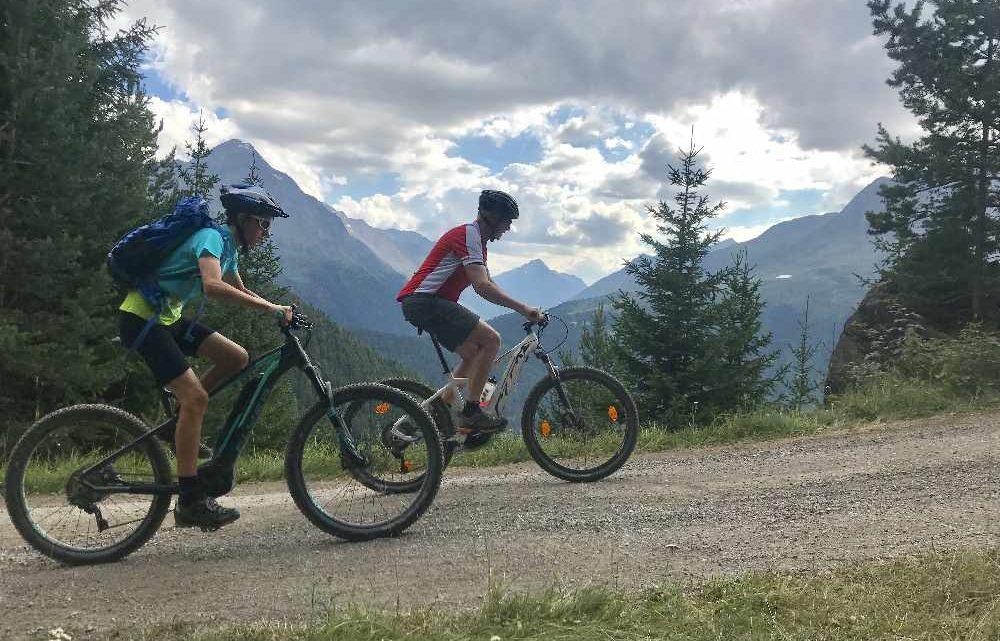 Auf die Kleblealm im Ötztal e-biken