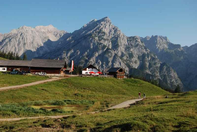 E-Bike Tour zur Walderalm im Karwendel