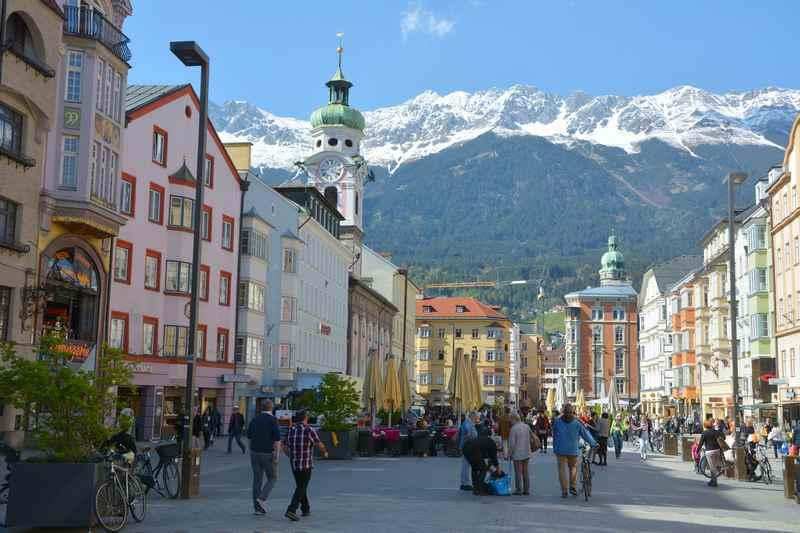 E-biken in Innsbruck